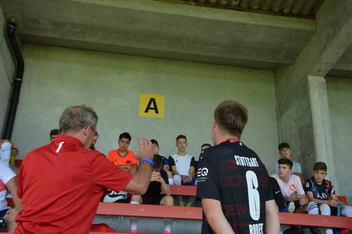 Workshop mit Spieler von Zug 94