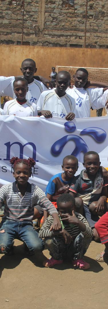 Vorbereitungen für teilnehmende der Academy in Nairobi