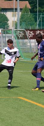 SPielszene FC Lugano vs. Paris Saint-Germain