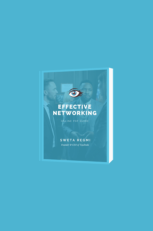 Effective Networking E-Book