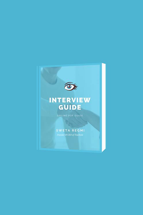 Interview Guide E-Book