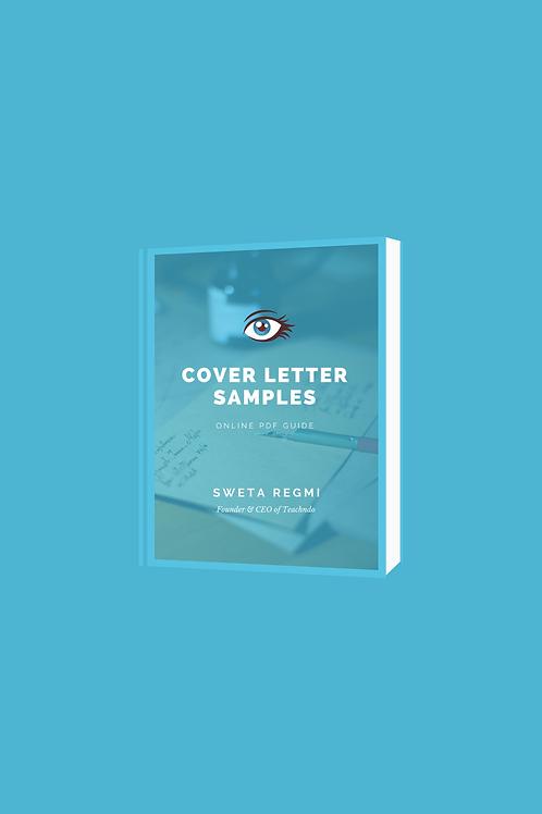 Cover Letter Sample E-Book