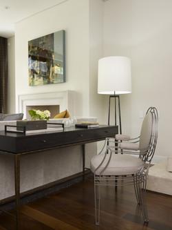 Living Area Desk Detail