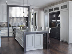 Kitchen Island and Cooktop