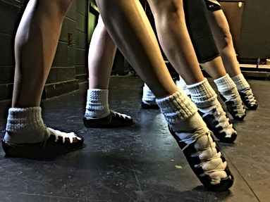 Enroll for Irish dance classes. Beginners age 5 and up welcome!