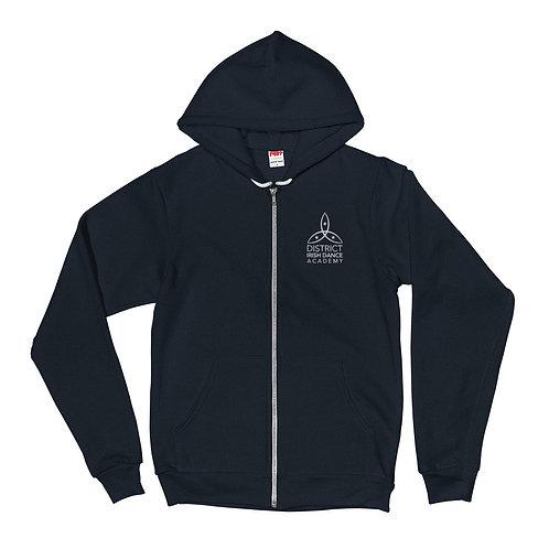 Embroidered Academy Zip Hoodie