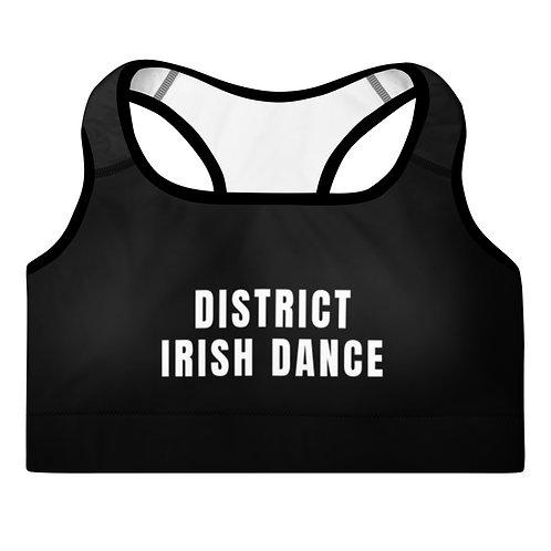SPRING 2021 District Irish Dance Padded Sports Bra