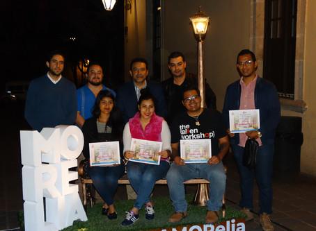 Reciben premio los ganadores de los concursos #venAMORelia