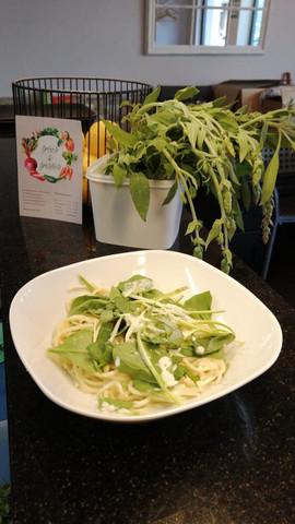 frisch & fröhlich Kreuzlingen Selbstgemachte Pasta Spinat