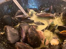 frisch & fröhlich Kreuzlingen Muschelsuppe