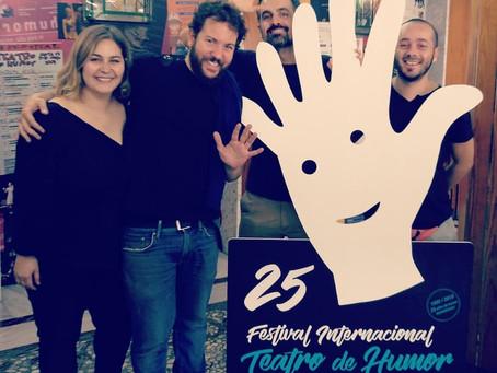 La Loca Historia de la Literatura en el prestigioso Festival Internacional del humor de Santa Fe