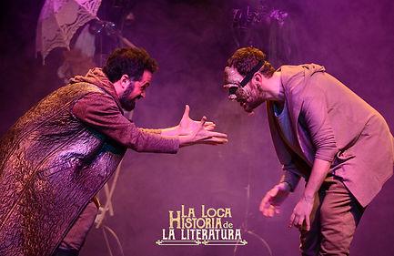 La loca Historia de la Literatura Salamanca Teatro