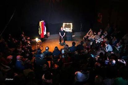 El actor Antonio Velasco y la noche mágica con Secundario en Almargen (Salamanca)