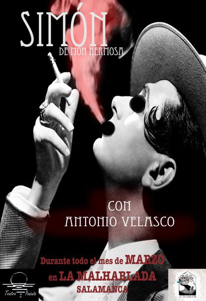 """Nuevo proyecto del actor Antonio Velasco """"Simón"""""""