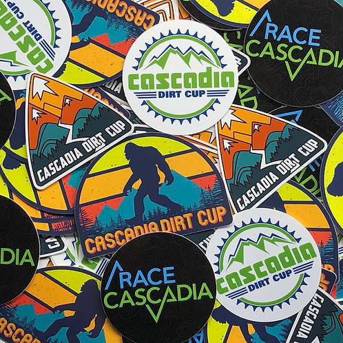 Race Cascadia / CDC Stickers