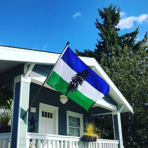 Cascadia Doug Flag 3' x 5'