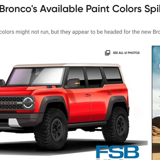 2021 Ford Bronco Color Spill