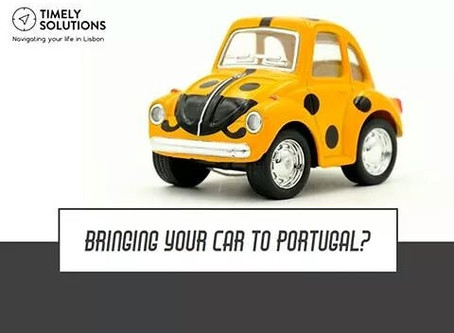 BRING YOUR CAR TO PORTUGAL?