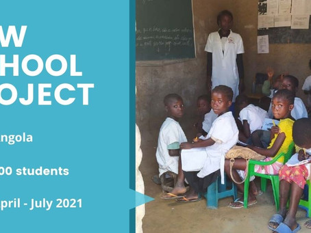 Four hundred children are about to get an appropriate learning environment in Lepi, Angola.