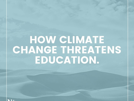 What Happens If The Negative Effects Of Climate Change Create Barriers To Access Education?
