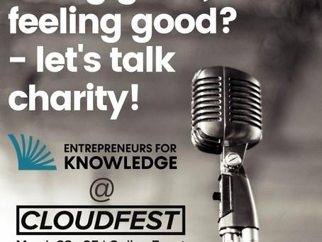 Doing good, Feeling Good? - Let's Talk Charity!