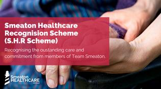 Smeaton Healthcare Recognition Scheme