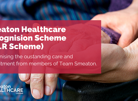 Smeaton Healthcare Recognition Scheme