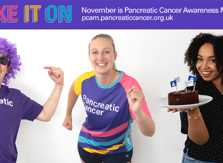"Pancreatic Cancer - Awareness Month ""Take it on"""
