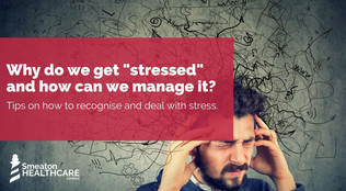 """Why do we get """"stressed"""" and how can we manage it?"""