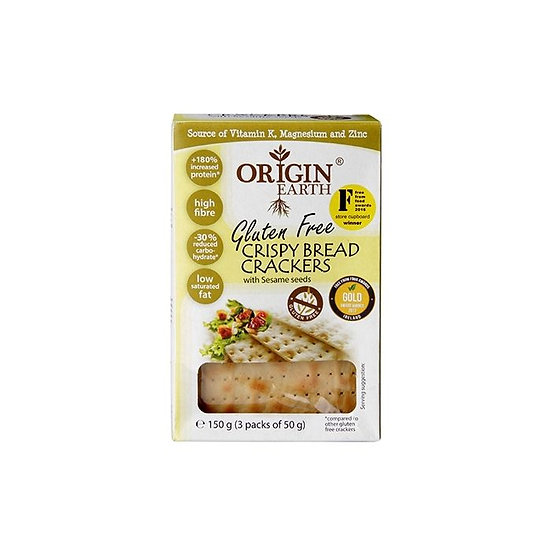 Origin Earth GF Crispy Bread Crackers