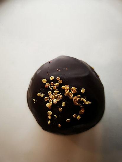 Chocolate Salted Quinoa Ball