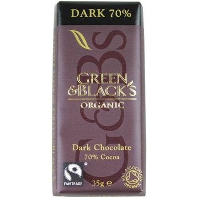 Green and Blacks Dark 70% Mini Bar