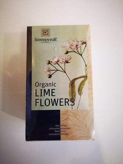 Organic Lime Flowers Teabags