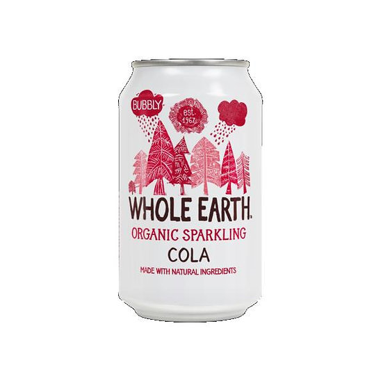 Whole earth Organic Cola 330ml
