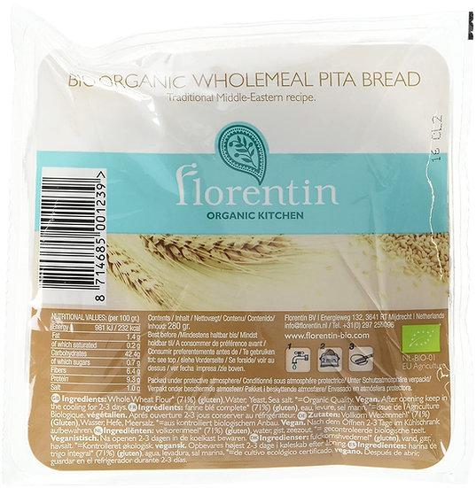 Organic Wholemeal Pita Bread