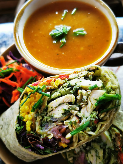 The Deal (Cup of Soup and Any of our Wraps)