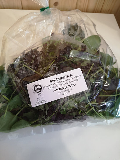 Mill House Farm Organic Salad Leaves