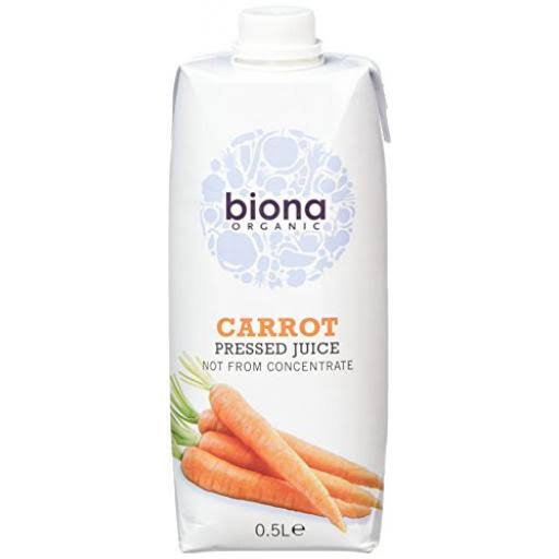 Biona Carrot Juice 500 mls