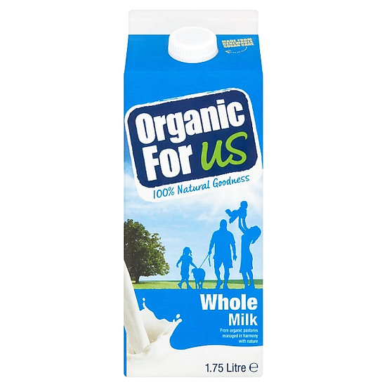 Organic for Us Whole Milk