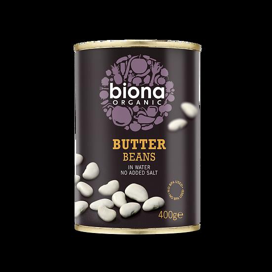 Biona Butter Beans 400g