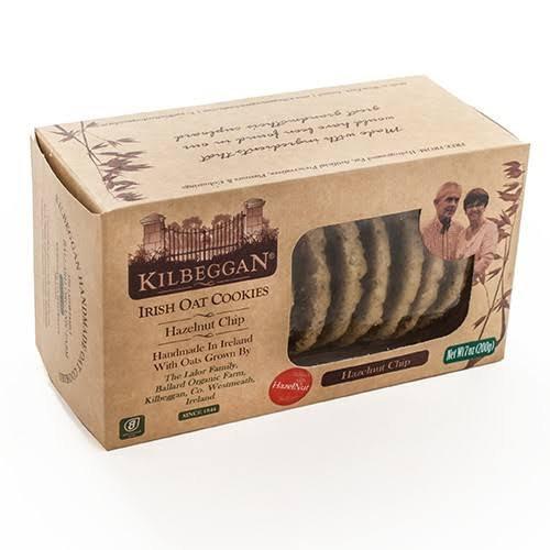 KIlbeggan Oat Cookies Hazel Nut Chip 200g