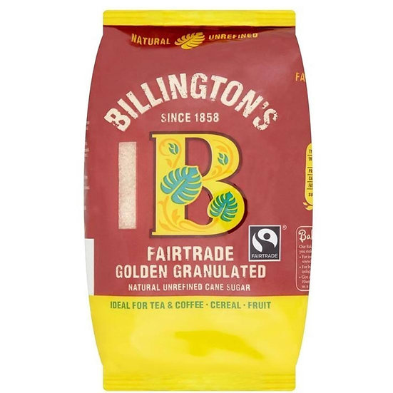 Billingtons FT Golden Granulated Sugar 500g