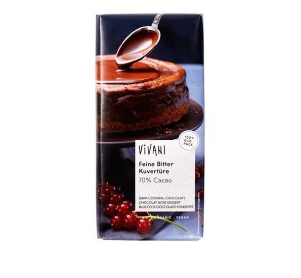Vivani Dark Cooking Chocolate