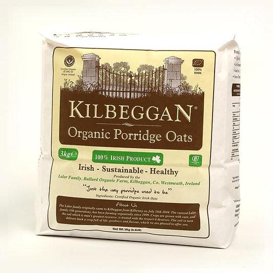 Kilbeggan Oats Organic 3kg