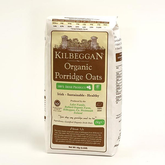 KIlbeggan Oats Organic 1kg