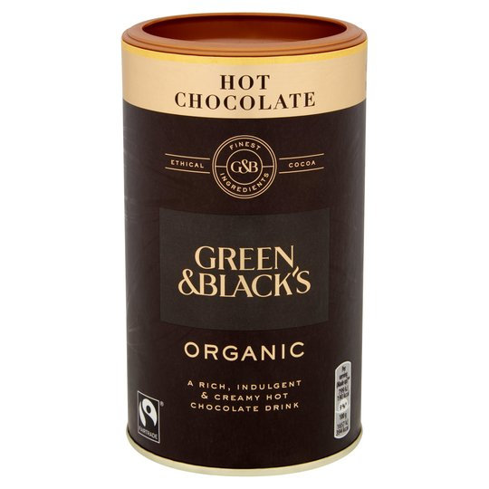 Green and Black's Hot Chocolate Organic 300g