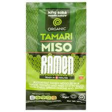 King Soba Tamari Ramen Noodles