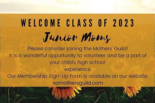 Incoming Junior Membership