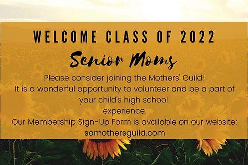 Incoming Senior Membership