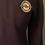 Thumbnail: Black 1/4 zip-sweatshirt MG Logo
